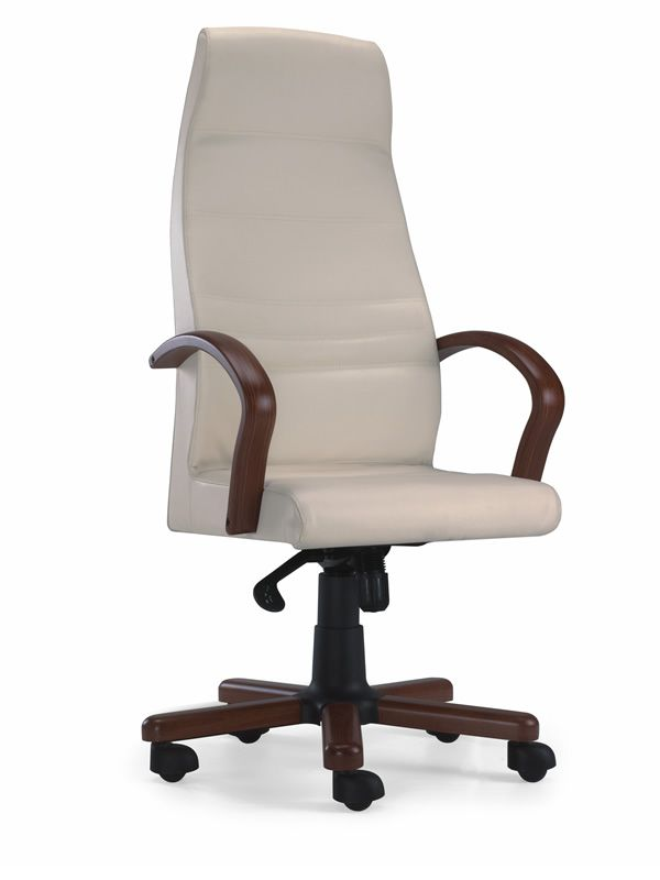 ML602 Executive Office Chair Base And Armrest In Wood