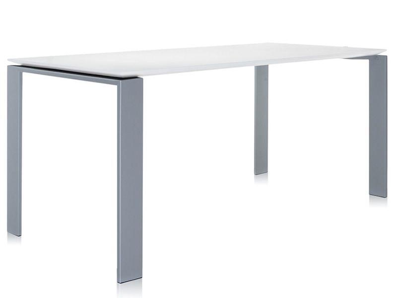 Four: design tisch kartell aus stahl und laminat verschiedene
