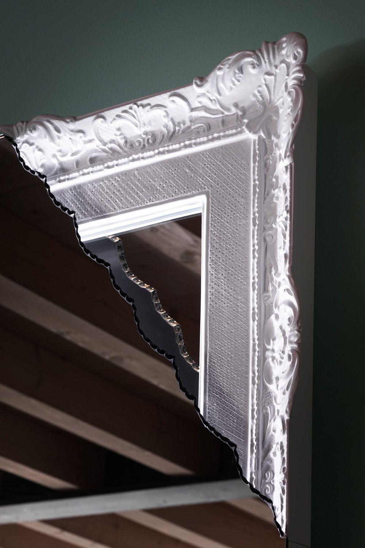 Breccia specchio rettangolare miniforms con angolo - Specchio convesso prezzo ...