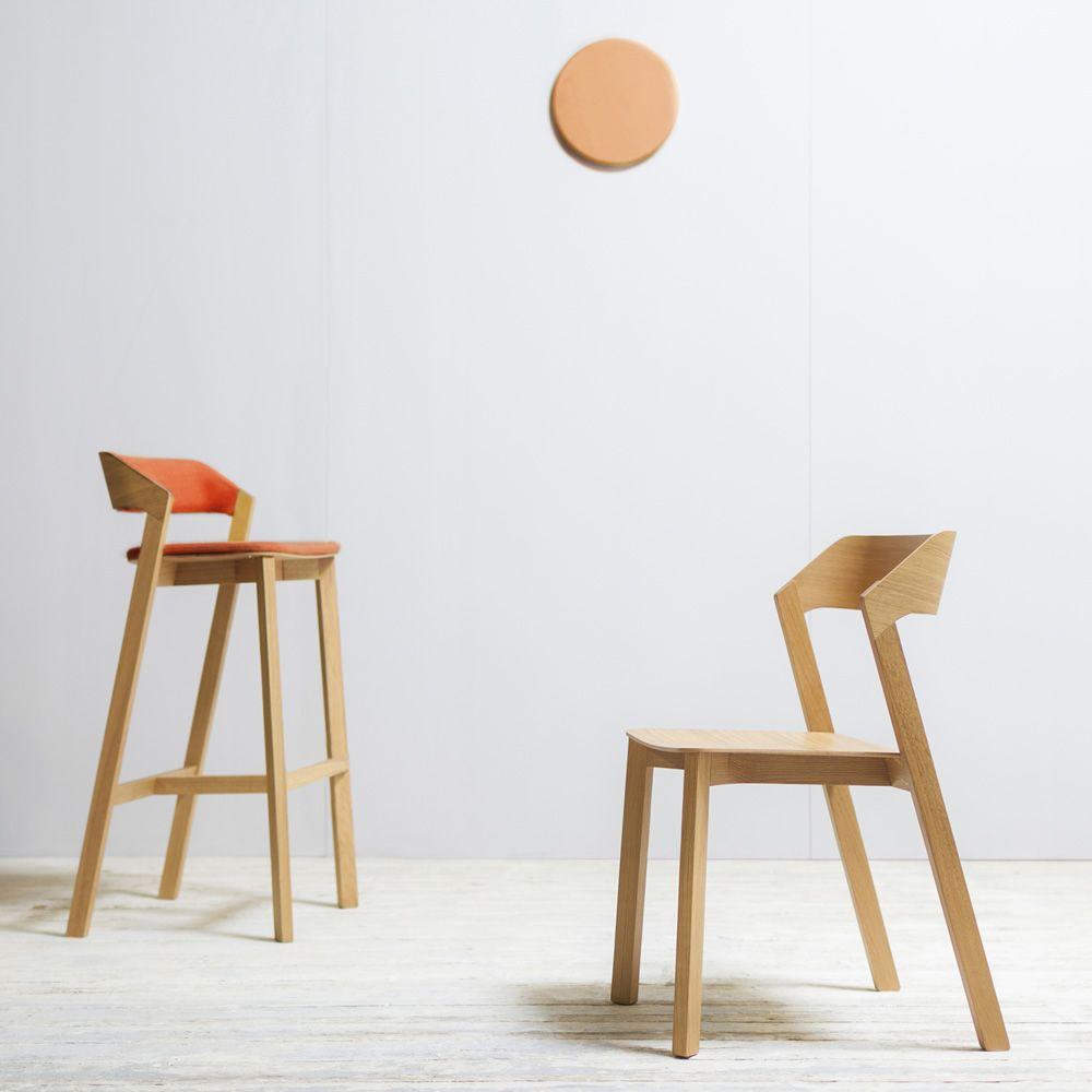 merano stool r hocker ton aus holz mit gepolstertem sitz sitzh he 63 oder 80 cm sediarreda. Black Bedroom Furniture Sets. Home Design Ideas