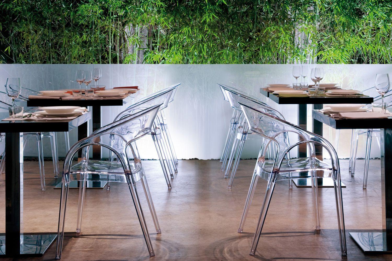 Gossip 620 für Bars und Restaurants - Gastronomiestuhl mit Armlehnen ...