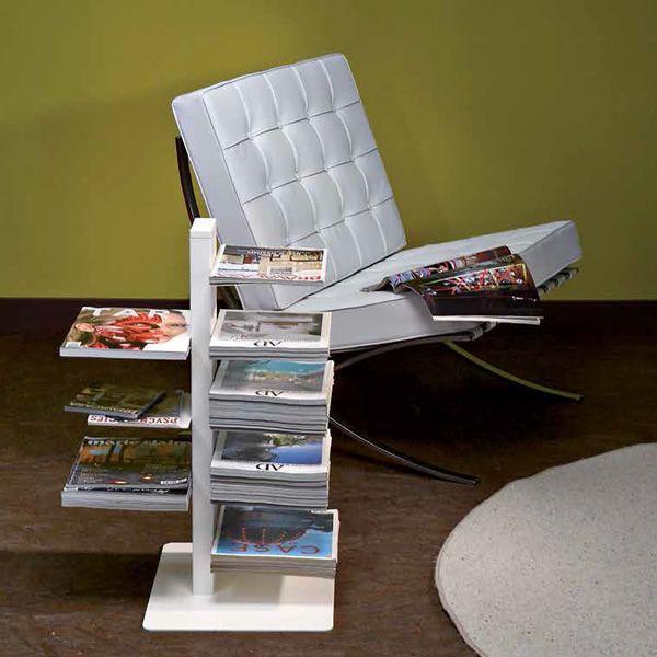 witty vertikales b cherregal aus metall in verschiedenen farben und h hen verf gbar sediarreda. Black Bedroom Furniture Sets. Home Design Ideas