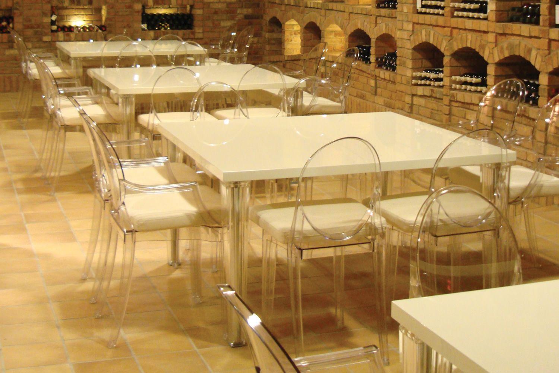 TopTop Table - Tavolo Kartell di design, in metacrilato con piano ...