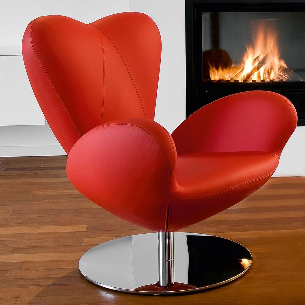 Heartbreaker - Poltrona design di Tonon, girevole, versione outlet ...