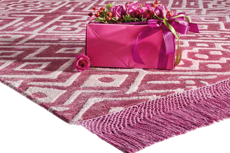 hippy designer teppich aus pflanzenseide in verschiedenen gr en verf gbar sediarreda. Black Bedroom Furniture Sets. Home Design Ideas