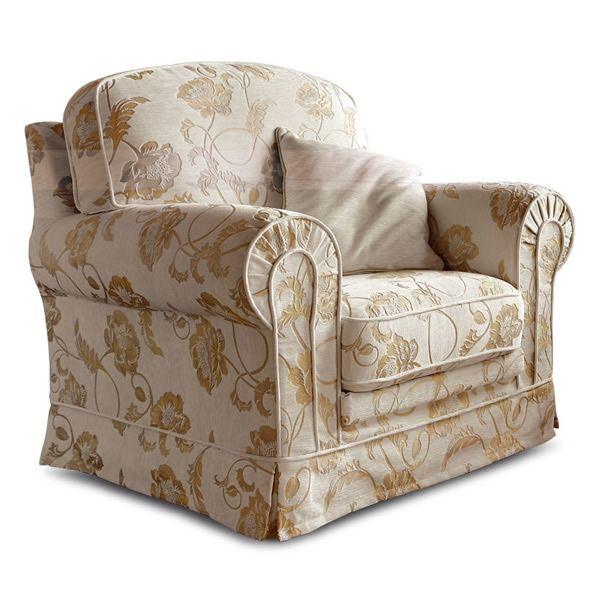 Artemide armchair - Poltrona classica, completamente sfoderabile ...