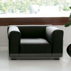 Asami Armchair - Poltrona Colico Design in metacrilato, diversi rivestimenti, anche per esterno