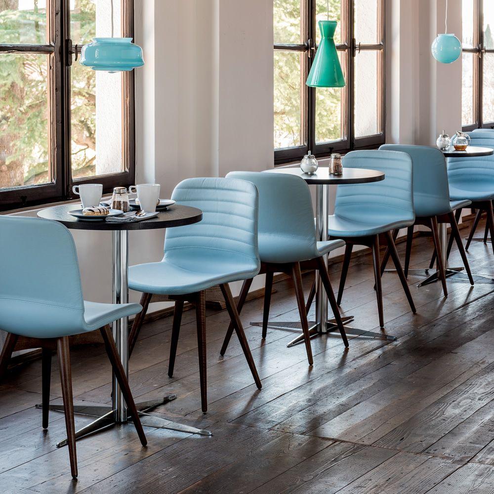 Li l sedia midj in legno seduta in restylon o for Fenice design sedie ufficio