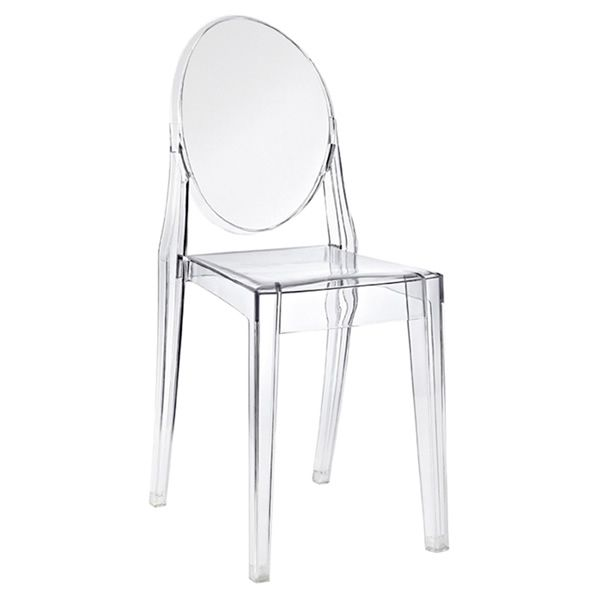 Victoria Ghost for Bars and Restaurants - Kartell design chair, in ...