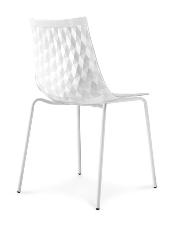 CB1038 Ice: Connubia - Calligaris chair made of metal and SAN ...