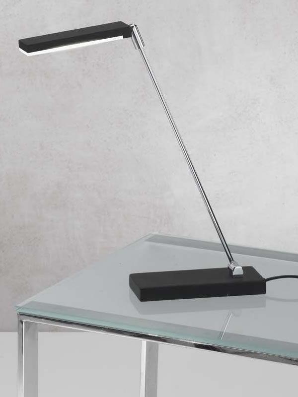 fa3148dt lampada da tavolo in metallo illuminazione led