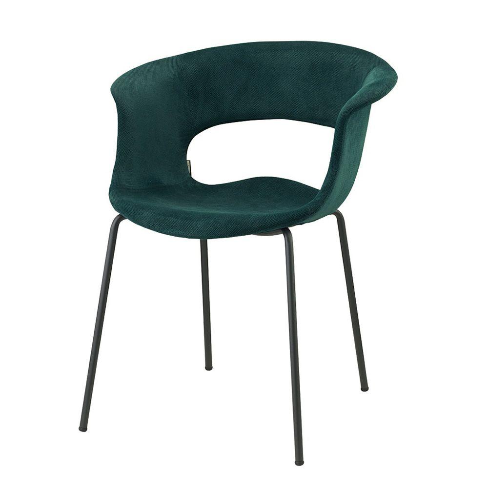 Miss b pop 2686 chaise en m tal avec rev tement en tissu for Chaise tissu couleur