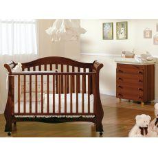 Renee - Lettino-divanetto Pali in legno di faggio con cassetto, disponibile in diversi colori