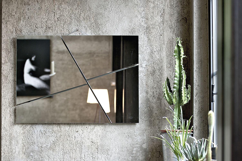 Break specchio di design bontempi casa quadrato o rettangolare con struttura portante in - Specchio break bontempi ...
