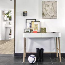 Hall - Consolle Universo Positivo in legno con cassetti in metallo