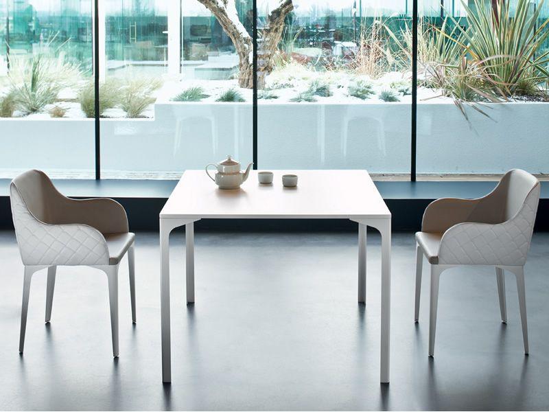 armando feststehender tisch midj aus metall in verschiedenen gr en verf gar sediarreda. Black Bedroom Furniture Sets. Home Design Ideas