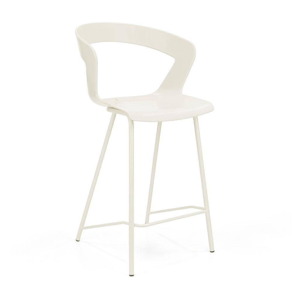 ibis 302b tabouret design en m tal et technopolym re hauteur assise 65 cm aussi pour jardin. Black Bedroom Furniture Sets. Home Design Ideas