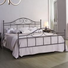 Giusy - Double bed in iron, several colours available