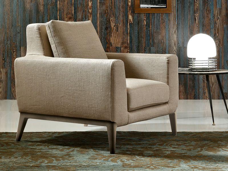 spice armchair fauteuil design avec pieds en bois rev tement d houssable sediarreda. Black Bedroom Furniture Sets. Home Design Ideas