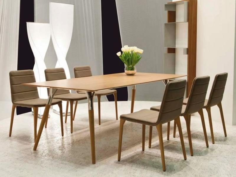 Salt&Pepper - Tavolo di design Tonon, con gambe in metallo e piano ...