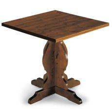 AV63 - Tavolo quadrato in pino, in diverse misure