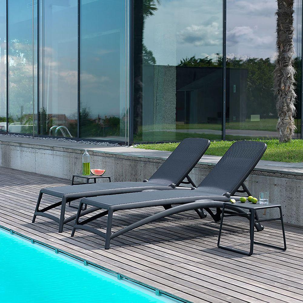 atlantico transat en polypropyl ne dossier inclinable empilable sediarreda. Black Bedroom Furniture Sets. Home Design Ideas