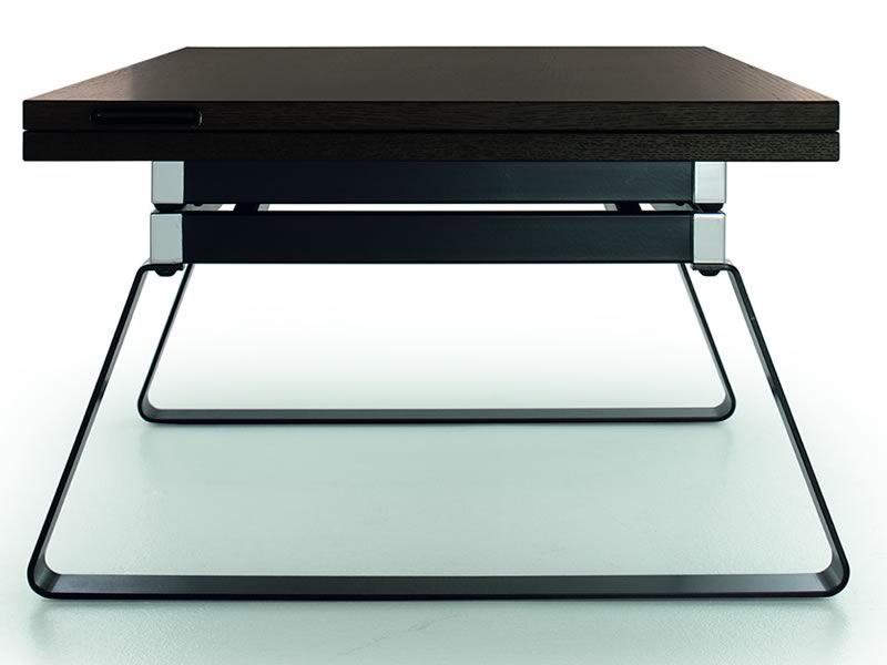 Orione transformable coffee table adjustable in height for Mesas de centro que se elevan