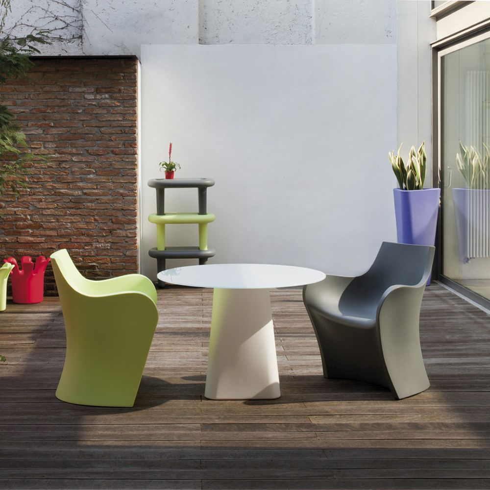 Adam 100 Design Table B Line Also For Outdoor Made Of