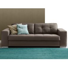Campania - Sofa bed, 2, 3 or 3XL seater, with several coverings