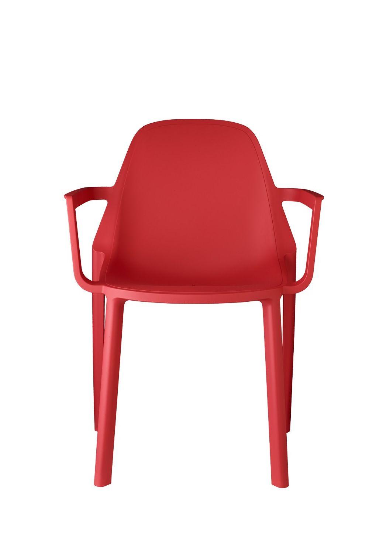 Pi p 2335 chaise avec accoudoirs en technopolym re - Chaise en couleur ...