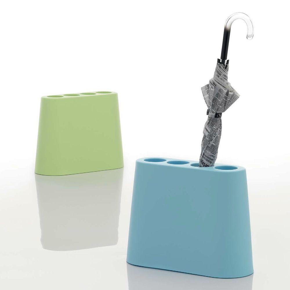 Aki porte parapluies design b line en poly thyl ne for Porte parapluie exterieur