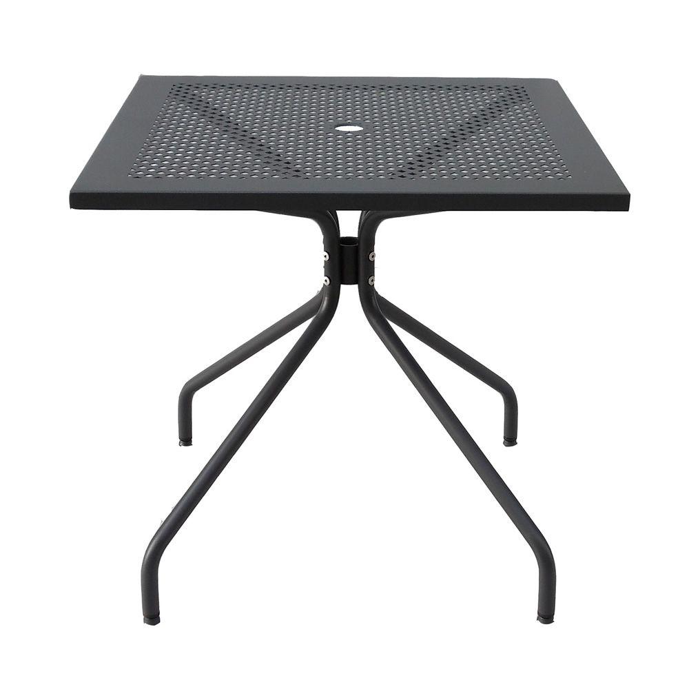 rig35 pour bars et restaurants table fixe en m tal en diff rentes dimensions pour bars et. Black Bedroom Furniture Sets. Home Design Ideas