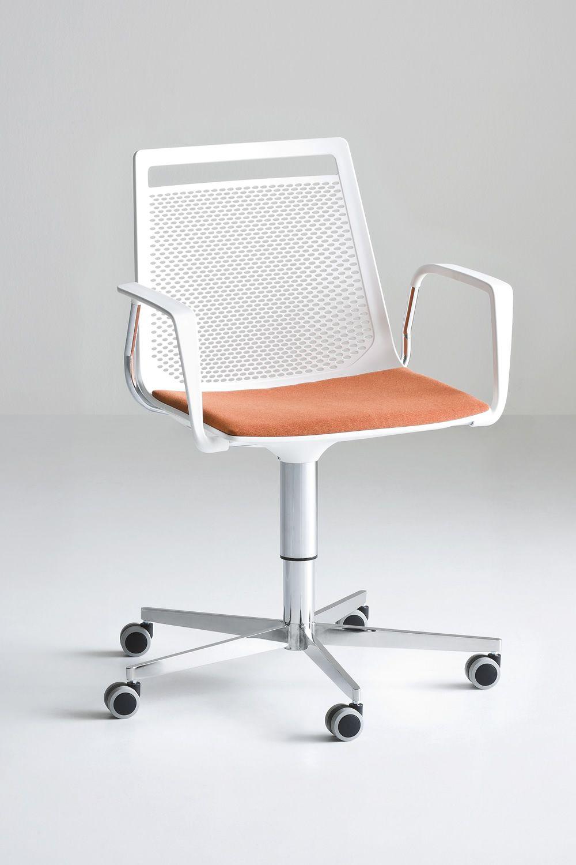 Akami office chaise de bureau pourvue de roulettes - Chaise de bureau reglable en hauteur ...