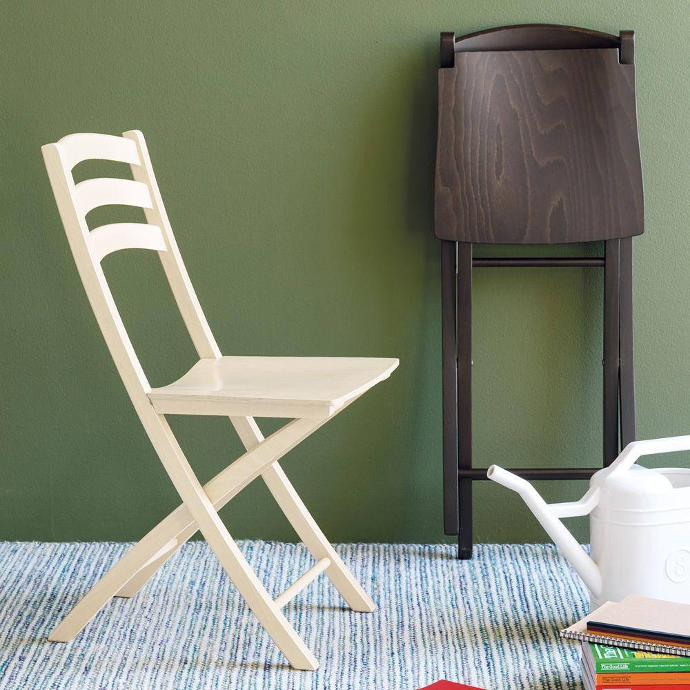 Cb1196 ambra outlet silla plegable connubia calligaris - Outlet de sillas ...