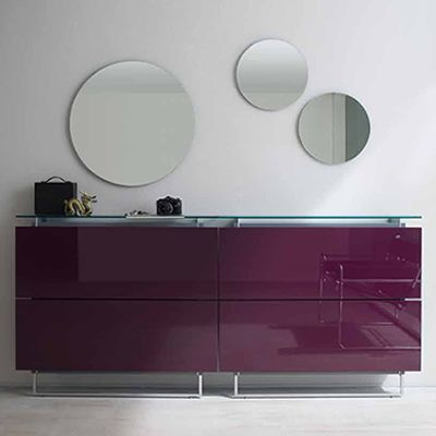 specchio t miroir ronde en diff rentes dimensions sediarreda. Black Bedroom Furniture Sets. Home Design Ideas