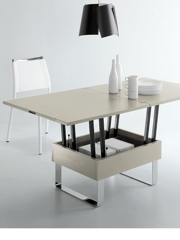 table transformable mesa