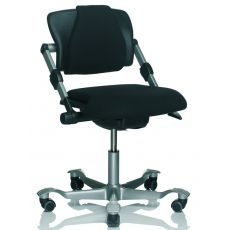 H03 ® - Ergonomic office chair by HÅG, with or without armrests, several colours