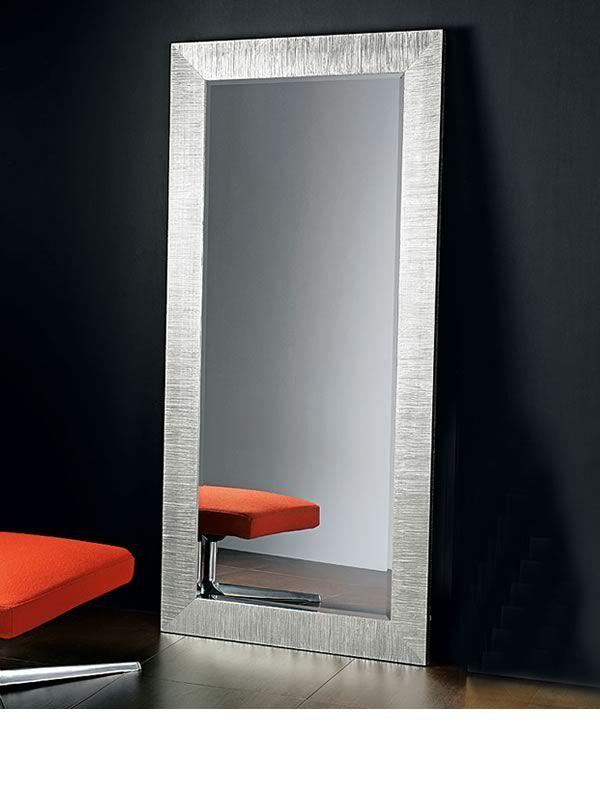 Diva s miroir avec cadre en bois d coration avec feuille for Miroir 70x170