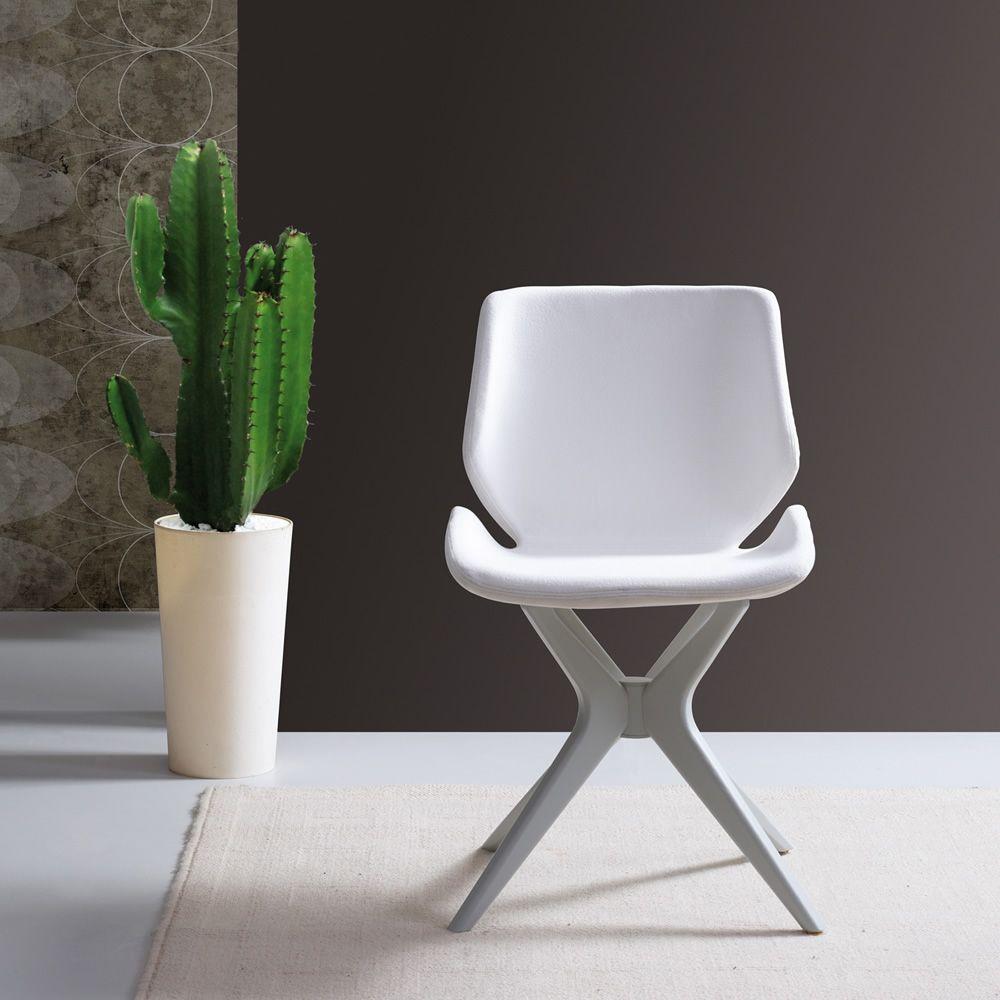Meg ma silla moderna de madera asiento acolchado for Tapizados de sillas modernas