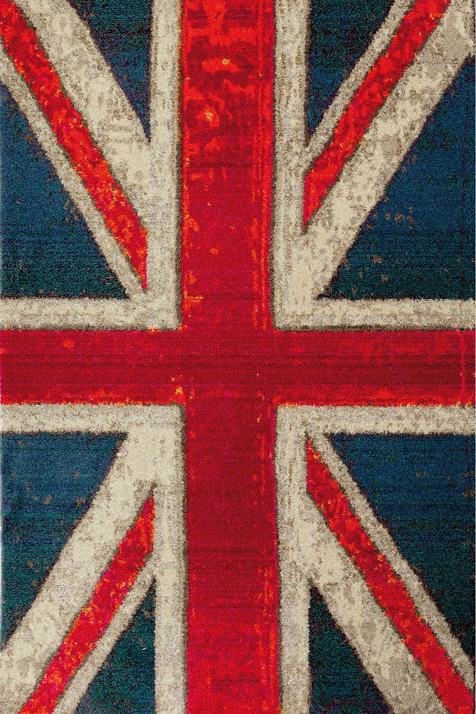 Flags - Tappeto moderno con motivo bandiera americana o inglese ...