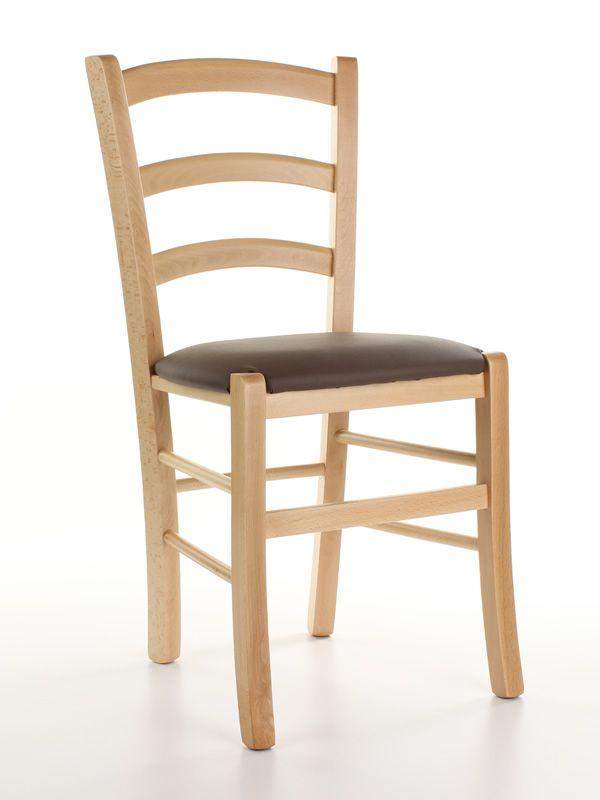 110 chaise en bois rustique en promo teint naturelle assise rembourr e avec rev tement en. Black Bedroom Furniture Sets. Home Design Ideas