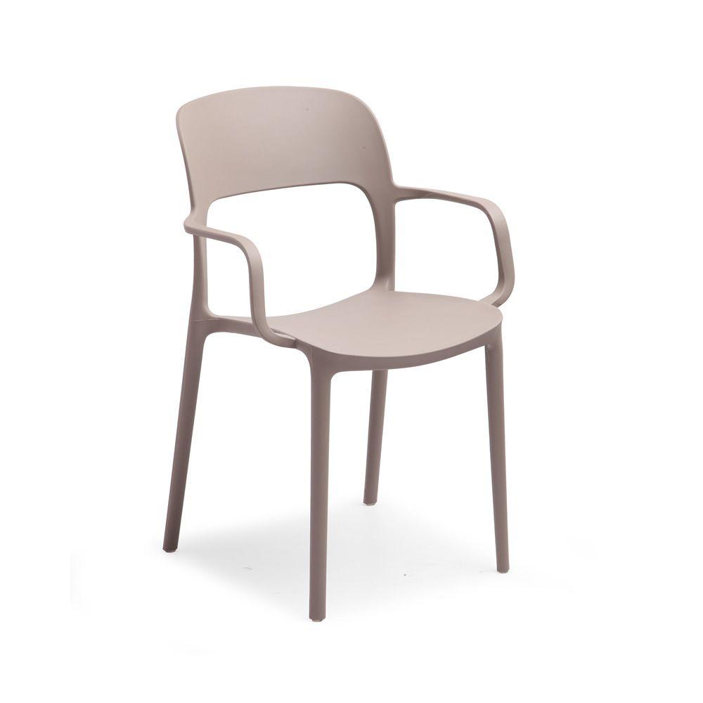 Tt1068 rep sedia impilabile in polipropilene e fibra di - Sedia polipropilene impilabile ...