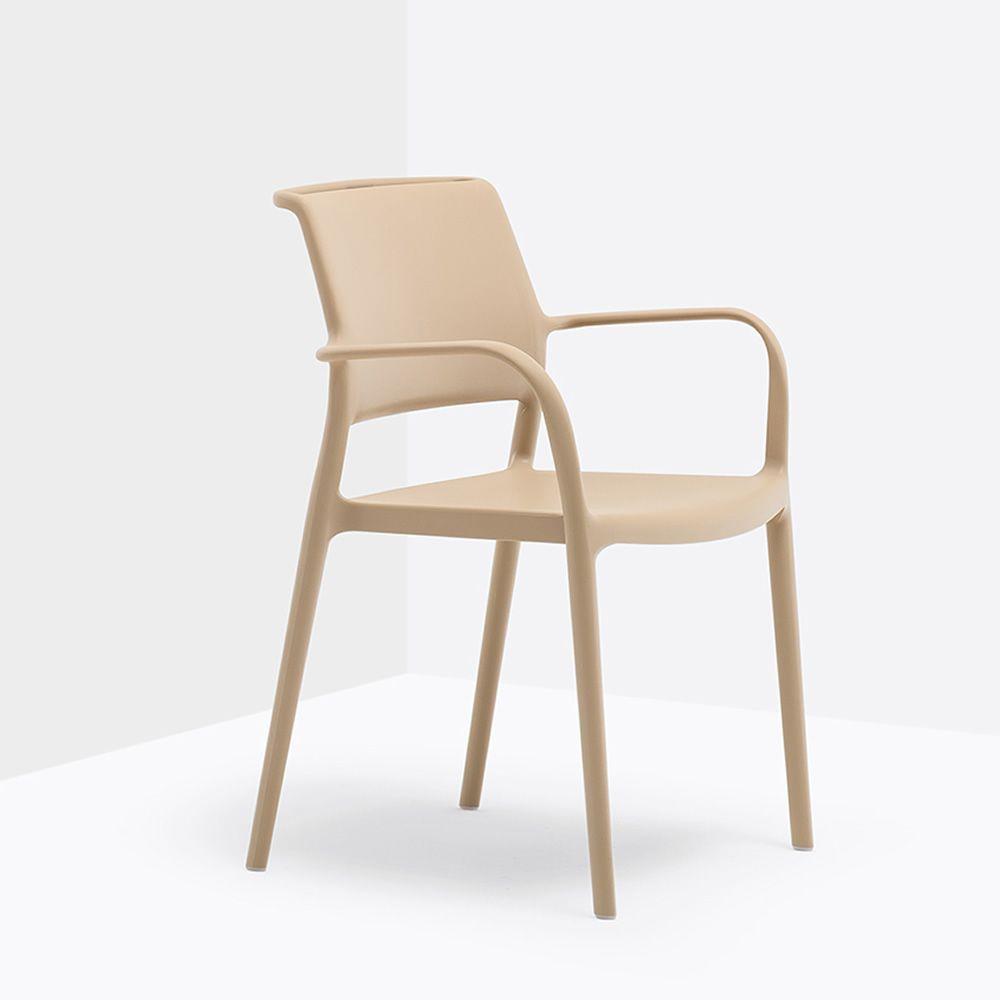 ara 315 fauteuil pedrali en polypropyl ne empilable aussi pour jardin en diff rentes. Black Bedroom Furniture Sets. Home Design Ideas