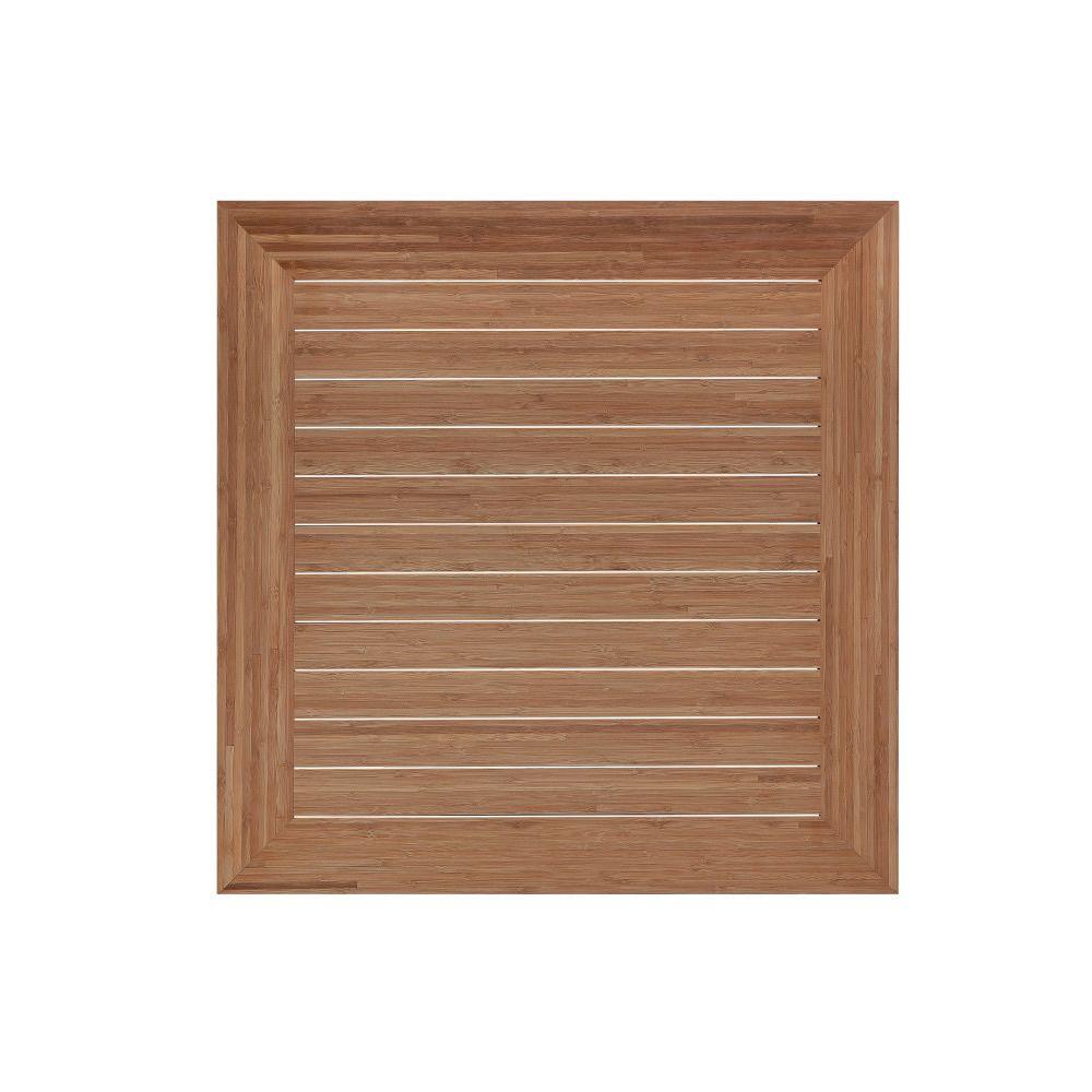 Piani bamboo per bar e ristoranti piano per tavolo bar o for Piani di coperta in legno