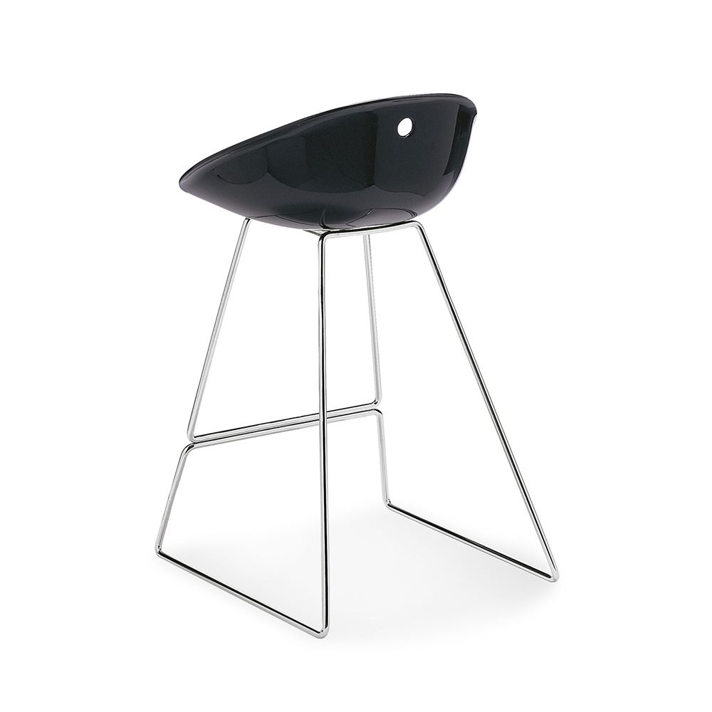 gliss 902 moderne tabouret pedrali en m tal et polycarbonate sediarreda. Black Bedroom Furniture Sets. Home Design Ideas