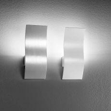 FA3133 - Lampada da parete in metallo, diversi colori, illuminazione LED