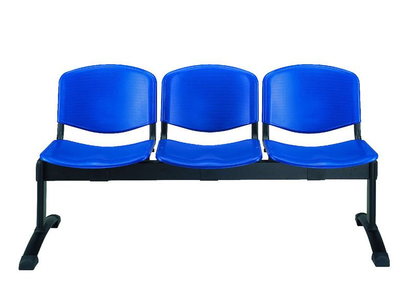 Ml100 panca p banco para sala de espera con asientos en for Oficina zona azul ibiza