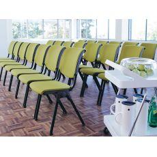Conventio ® - Sedia conferenza ergonomica HÅG, impilabile, parzialmente imbottita