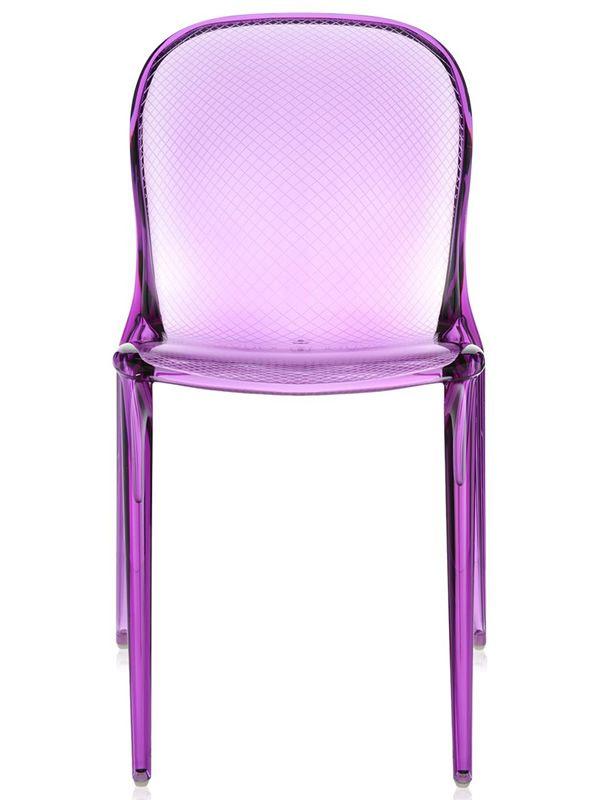 Thalya design stapelstuhl kartell aus polycarbonat auch for Design stapelstuhl