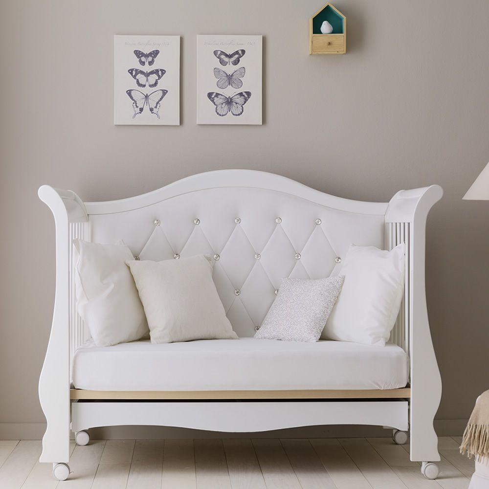Prestige vittoria: babybett/sofa pali aus buchenholz mit schublade ...